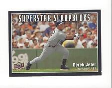 2008 Upper Deck Superstar Scrapbooks #SS6 Derek Jeter Yankees