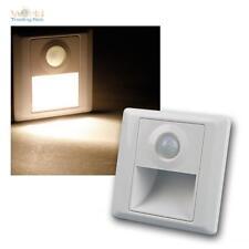 Wandeinbaustrahler LED warmweiß m Bewegungsmelder Wandeinbauleuchte Treppenlicht