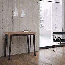 Tavolo consolle allungabile moderna Rio salotto soggiorno cucina telaio ferro