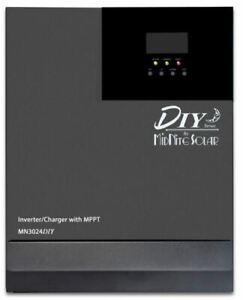 MidNite Solar MN3024DIY Inverter/Charger, 3000W, 24VDC with MPPT