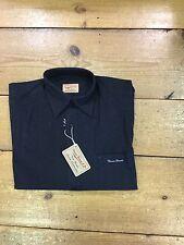 Thomas Brown (lambretta) Longsleeve Check Shirt/black/size M