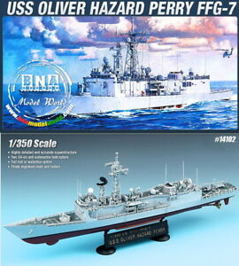 Academy Model kit 1/350 USS Oliver Hazard Perry FFG-7 -US Guided Missile Frigate
