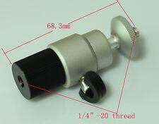 "1/4""-20 Female to 1/4"" 20 male mini ball head unit for camera tripod 5d2 5d3 7D"