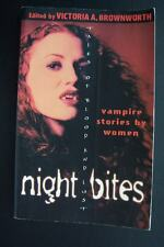 Night Bites: Vampire Stories by Women Tales of Blood and Lust Victoria A Brownwo