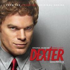 DEXTER SAISON 2 & 3 (MUSIQUE SERIE TV) - DANIEL LICHT - ROLFE KENT (CD)