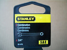 "NEW  STANLEY  LONG  FULL  POLISH  COMBINATION  WRENCH  3/4""  INCH"