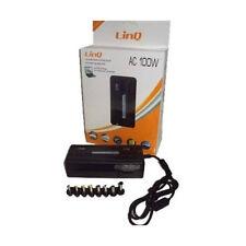 ALIMENTATORE UNIVERSALE 100W 220V USB 5VVC PER PC NOTEBOOK LINQ AC100W mshop