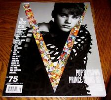 JUSTIN BIEBER V Magazine #75 Spring Preview 2012 The Music Issue Drake