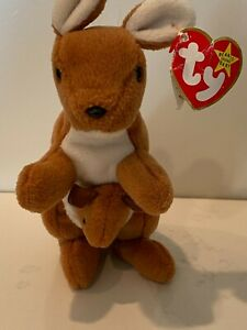 Ty Beanie Baby Pouch - errors on tag