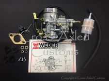 Land Rover Series II IIA III 2.25 Petrol WEBER 34ICH Carb Conversion Kit ERC2886