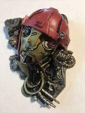 2001 Toy Biz Marvel Legends X-Men Sentinel Head Magneto Figure Base Free Ship