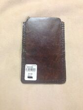 Pottery Barn Saddle Leather iPhone 5  / iPod Touch Holder - Wallet BRAND NEW!!