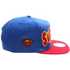 S40 NEW ERA 9FIFTY A-Frame Snapback Baseball Cap SUPERMAN Bubble Team S/M