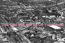 ST 445 - Air View Of The Breweries, Burton On Trent, Staffordshire - 6x4 Photo