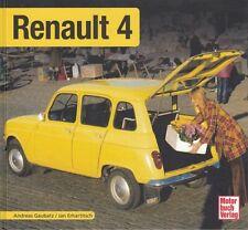 Typenchronik Renault 4 (R4) Modelle/Technik/Geschichte/Typen-Buch/Handbuch