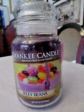 """Yankee Candle """" Jelly Beans"""" Large Jar Candle Collector'S Edition New"""