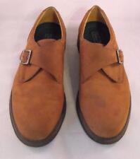 Rockport Mens Brown Brushed Leather Buckle Closure Size 12M Casual Shoes