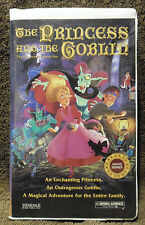 The Princess and the Goblin (VHS, 1994) Clam Shell Case