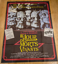 Affiche de cinéma : LE JOUR DES MORTS VIVANTS de GEORGE A. ROMERO