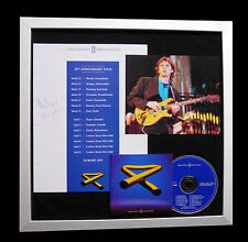 MIKE OLDFIELD+SIGNED+FRAMED+TUBULAR BELLS=100% AUTHENTIC+EXPRESS GLOBAL SHIP