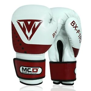 MCD Boxing Gloves BX-F1R3 Professional MMA Sparring Punch Bag Training