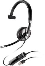 New Plantronics Blackwire C710 Monaural Head-Band Headset - P/N 87505-02