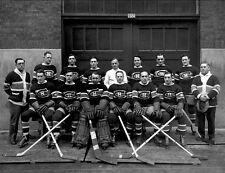 Montreal Canadiens 1929-30 NHL Season Team 8x10 Photo