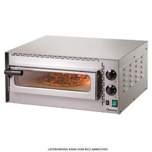"""Four à Pizza """" Mini Plus """" Bartscher Flammenkuchen Gastronomie Électrique"""
