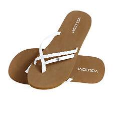 Volcom Thrills Womens Footwear Sandals - White All Sizes