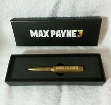 Max Payne 3 bullet pen Rockstar Games Max Payne 3 rare promo swag