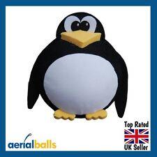 Cute Penguin King Car Aerial Ball Antenna Topper or use as a Dashboard Wobbler
