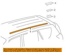 TOYOTA OEM 06-12 RAV4 Roof-Drip Molding 755570R010
