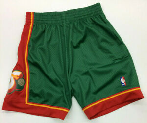 Seattle SuperSonics Mitchell & Ness NBA Authentic Swingman Men's Mesh Shorts