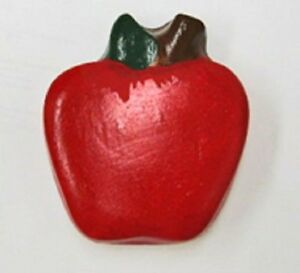 """Red Apple magnet  3 x 3.5"""""""