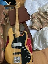 Fender Marcus Miller Jazz Bass Natural Ash Japan Rare