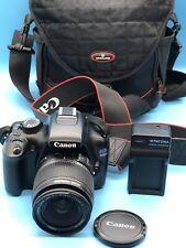 Canon EOS 1100D / Rebel T3 12.2 MP SLR-Digitalkamera - Schwarz (Kit mit EF-S...
