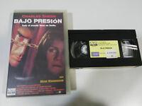 Basso Pressione Charles Sheen - VHS Horror Castellano