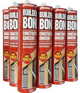12 x Liquid Nail (No Nail) Construction Adhesive (12 x 300ml)- Free Delivery