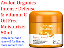AVALON ORGANICS Intense Defense with Vitamin C Oil-Free Moisturizer 57g Oil Free