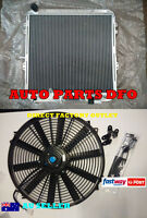 For TOYOTA SURF Radiator & 16 Inch Fan HILUX 2.4/2.0 LN130 Full Aluminum AT/MT