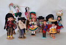 13 Vintage International Travel Costume Dolls From PORTUGAL