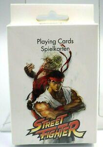 Street fighter jeu de cartes à jouer neuf Capcom street fighter playing card