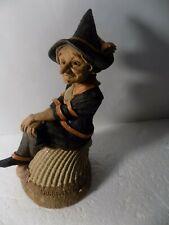"* 7"" Tom Clark Halloween Gnome Figure ""Sandwitch"" Signed"