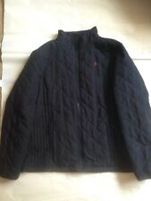 Joules Navy Quilted Jacket Coat Size 20 Ladies