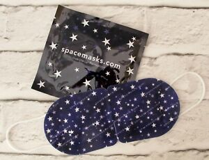Spacemasks Self-Heating Relaxing Eye Mask: 1 x Foil-Sealed Pouch