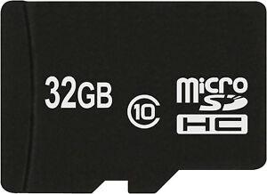 32 GB MicroSD Class10 UHS-1Karte für Samsung Galaxy S3 S4 S5 S8 S7 Mini Edge Neo