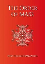 Order of Mass in English by Catholic Truth Society | Paperback Book | 9781860827