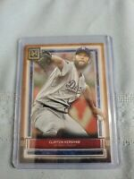 Clayton Kershaw Copper Parallel - 2020 Topps Museum Collection