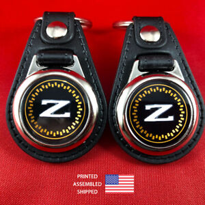 300ZX Z31 Emblem Key Fob Key Ring Keychain (2-Pack)