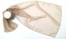 Women Plain Chiffon Scarf Silk Like Soft Neck Shawl By Kongle, 23 colour options